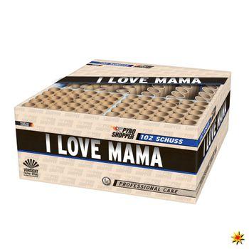 Verbundfeuerwerk I Love Mama - 65 Sek. von Lesli