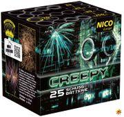 Creepy Feuerwerksbatterie