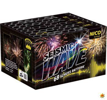 Feuerwerk Batterie Seismic Wave 70 Sek. von Nico