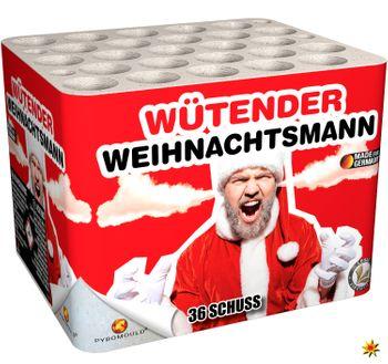Feuerwerk Batterie Wütender Weihnachtsmann 30 Sek. von Lesli