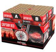 Captain Red Verbundfeuerwerk 90 Sek. von Lesli