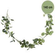 Künstliche Eukalyptus Girlande 140 cm Deko für Hochzeit Geburtstag Kranz