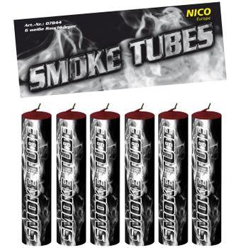 Nico Smoke Tubes Weiß - 6 Rauchfackeln je 50 Sek.