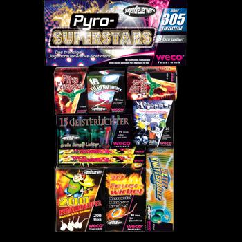 Pyro Superstars Kinderfeuerwerk von Weco
