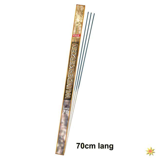 XXL Wunderkerzen 70cm