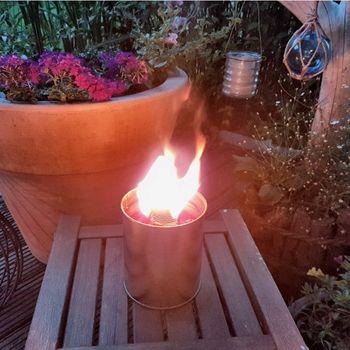 Fackeltopf - Großer Flamme - 5h Brennzeit