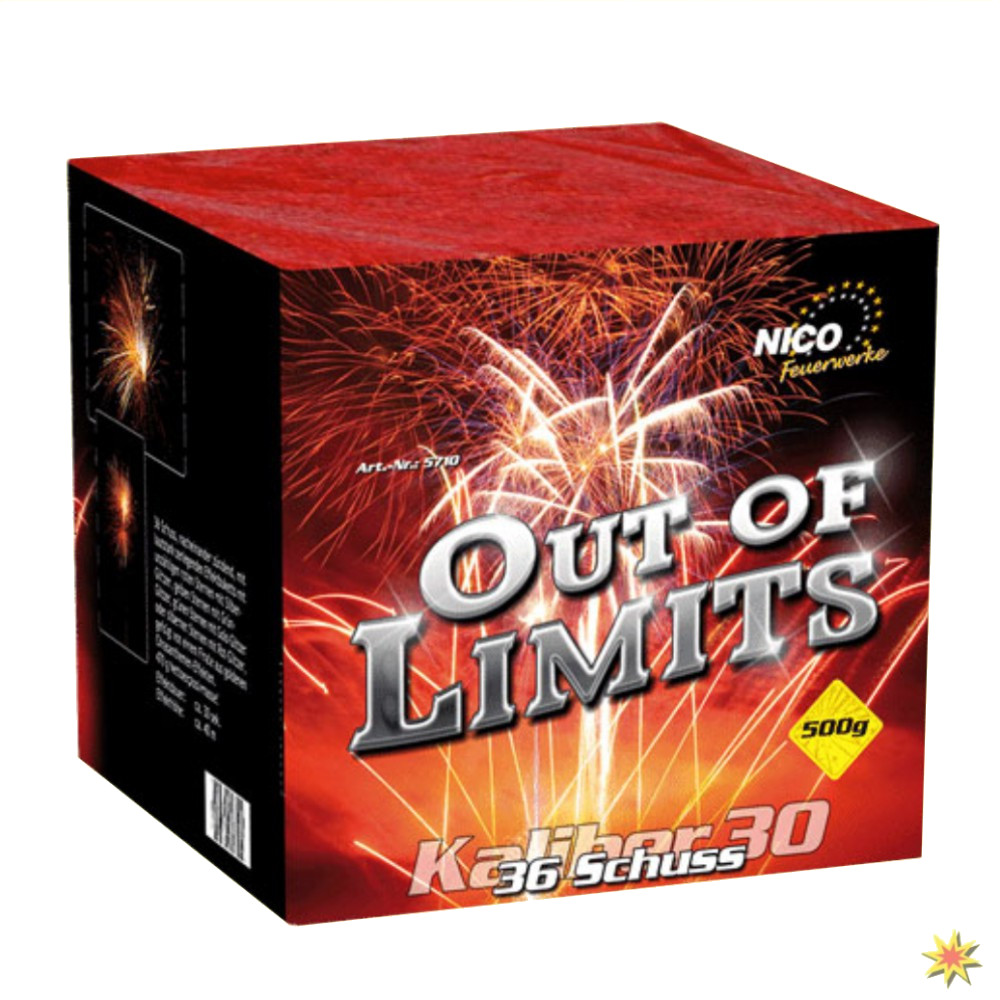 Nico Out of Limits Feuerwerk online kaufen Silvesterfeuerwerk bestellen