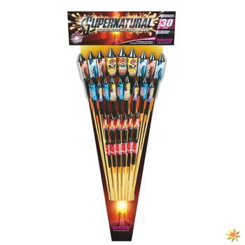 Feuerwerksraketen Supernatural - Silvester Feuerwerk